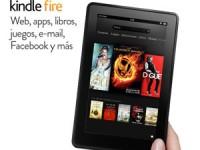 Las nuevas Kindle Fire y Kindle Fire HD, ya disponibles en España