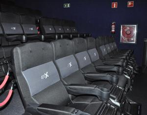 Kin polis ciudad de la imagen inaugura la primera sala 4dx for Sala 4dx opiniones