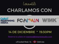 Lekanto Coworking organiza una charla con Carat España, FCB España y WinkTTD