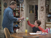 """premiere episode, """"Keep on TruckinÕ,"""" a sudden turn of events forces the Conners to face the daily struggles of life in Lanford in a way they never have before. """"The Conners"""" premieres TUESDAY, OCT. 16 (8:00-8:31 p.m. EDT), on ABC. (ABC/Eric McCandless) JOHN GOODMAN, AMES MCNAMARA"""