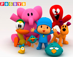 'Pocoyo' llega a Amazon Prime Video