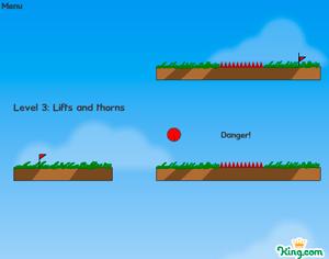 'Red Ball', juego de plataformas para comprobar tu precisión