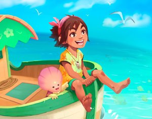 La firma valenciana Chibig Studio prepara 'Summer in Mara', nuevo videojuego para 2019