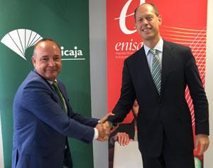Enisa y unicaja banco firman un convenio para impulsar la for Unicaja banco oficinas