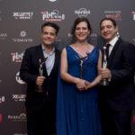 'Una mujer fantástica' cierra su impresionante trayectoria con un rotundo triunfo en los quintos Premios Platino celebrados en México