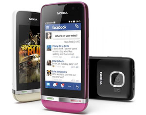 Nokia contraataca con teléfonos de pantalla táctil de bajo coste