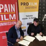 Spain Film Commission y Profilm firman un acuerdo de colaboración y elaborarán un manual de producción audiovisual para rodajes en España