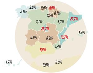 La producción de videojuegos en España facturó en 2016 un total 617 millones de euros, un 21 por ciento más